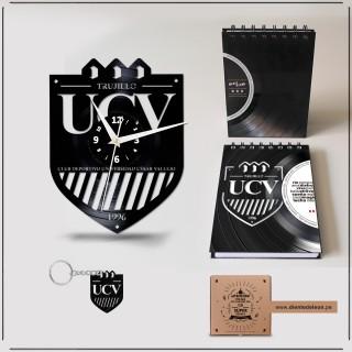 RELOJ + LIBRETA + LLAVERO UCV CLUB